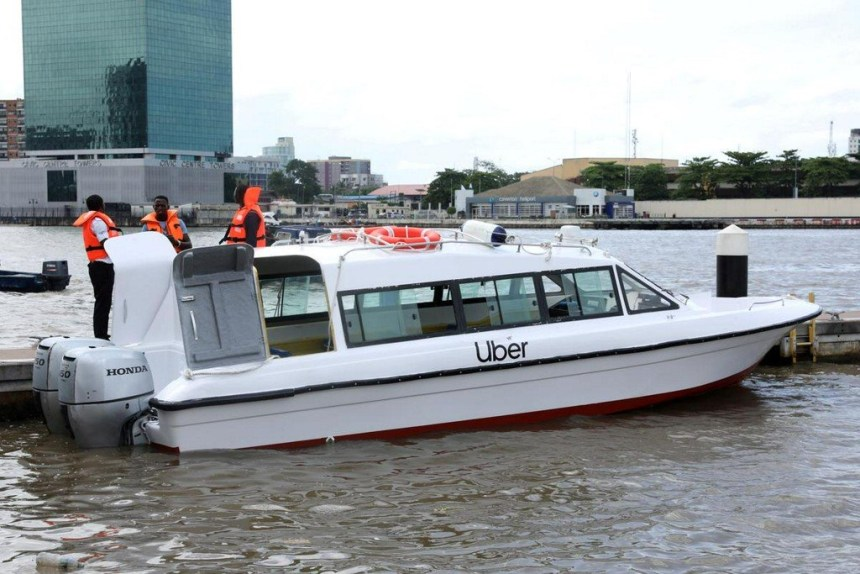 Uber takes a dive into Lagos' waterways. Will it change anything? - Qwenu!