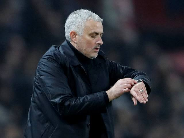 José Mourinho frustrated by lack of time spent working with Tottenham players